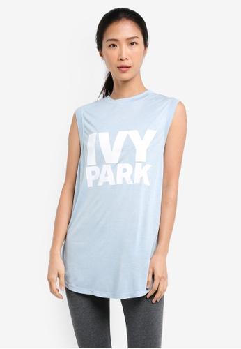 Ivy Park blue Logo Vest IV000AA0SEU3MY_1