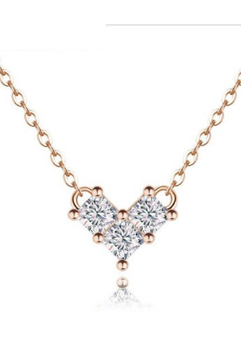 Vivere Rosse Tiny Heart Necklace VI014AC38BIFMY_1