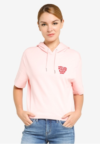 Calvin Klein pink Valentine's Day Capsule Hoodie 56E60AA80F2AA5GS_1