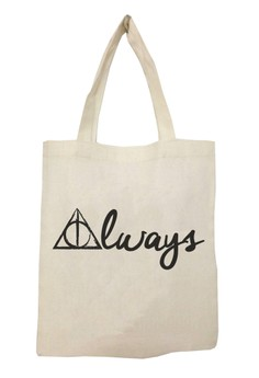 HP Dealthly Hallows Always Tote Bag