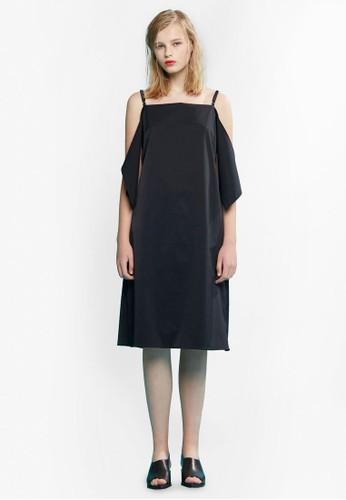 造型挖肩細肩帶連身裙, 服飾, 洋esprit香港門市裝