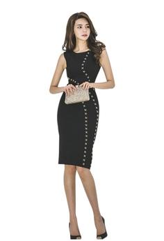 Sunnydaysweety black Super Sale New Black Sleeveless One Piece Dress  CA071827 8A022AAB248739GS 1 1fd2f51eb