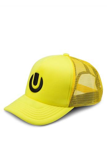 Ulesprit台灣tra 符號刺繡鴨舌帽, 飾品配件, 飾品配件