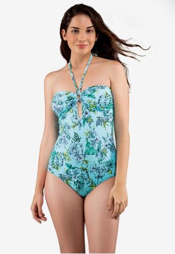 Dorina blue Sea Breeze One Piece Swimsuit BFF2EUSC9FB1B1GS_1