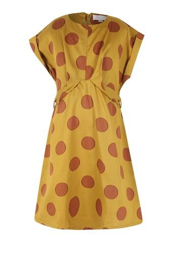 PITO DITO brown Wanda Dress 11C46KAAAE5558GS_1