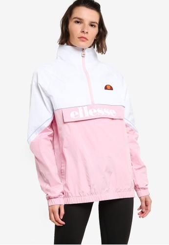 Ellesse pink Scerti 1/2 Zip Track Top 8F4DDAAC848BB4GS_1
