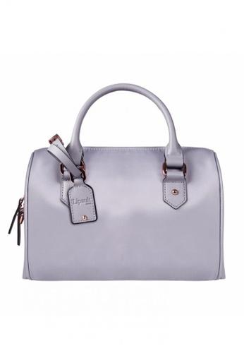 Lipault Grey Plume Avenue Bowling Bag S B690dace515409gs 1