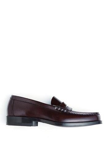 HARUTA 褐色 男裝經典樂福皮鞋-906 DCF91SH348E7DEGS_1