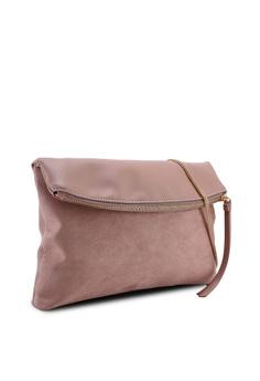 0de9a42e35 5% OFF Dorothy Perkins Blush Foldover Clutch Bag RM 129.00 NOW RM 122.90  Sizes One Size