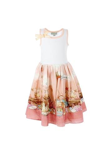 Viva Vida Kids pink Tank Dress Bunnies 05491KACE02DE5GS_1