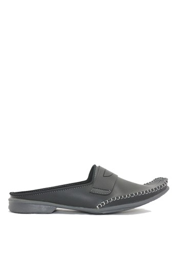 Dr. Kevin black Dr. Kevin Men Casual Bustong Sandals 1627 - Black DR982SH0U9KLID_1