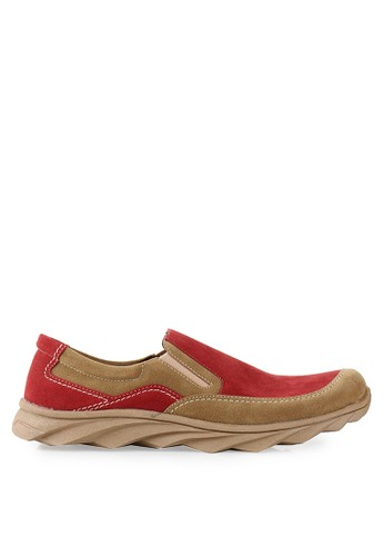 Dr. Kevin red and multi Loafers, Moccasins & Boat Shoes Shoes 13267 DR982SH51SFCID_1