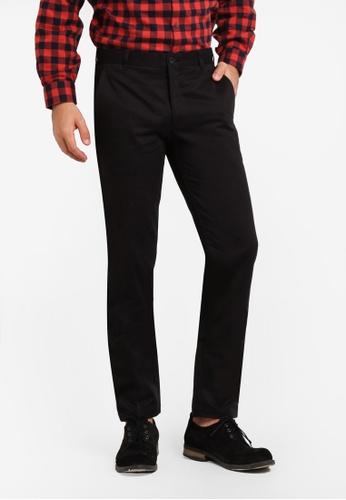 Kent & Crew black Cotton Pants KE579AA0RJRVMY_1