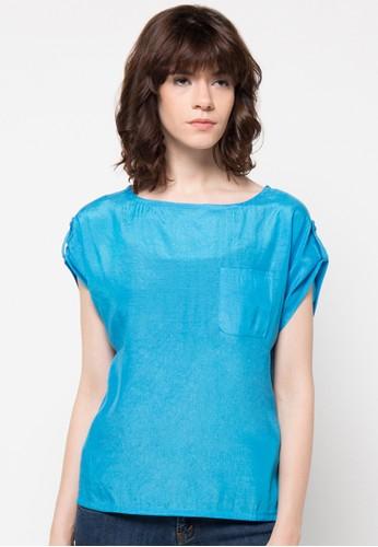 WISHFUL blue Lia Blouse WI930AA70VENID_1