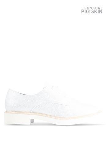BETSY 銀色 金屬感牛津鞋 DD09DSH4192B72GS_1