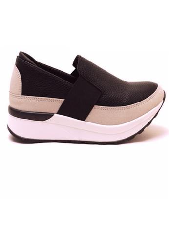 Crystal Korea Fashion black Korean New Versatile Platform Shoes B8D37SH834C84AGS_1