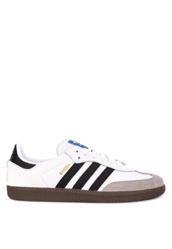 adidas white adidas originals samba og 59A2FSHC61EB85GS_1