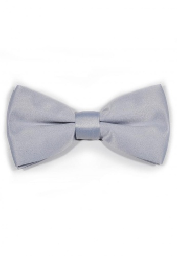 Tieline silver Tieline Silver Classic Bow Tie TI886AC72UPBPH_1