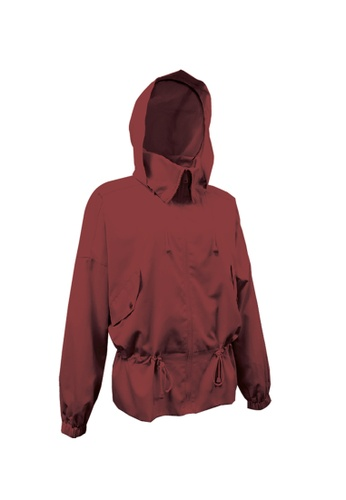 Universal Traveller red Universal Traveller Wind Jacket With Oversized Pocket - WJW 9253 28B52AAFDEDB26GS_1