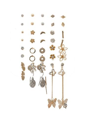 ALDO multi Galelinia Pierced Earrings Pack 53976AC24D5051GS_1