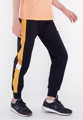 Corenation Active black Bila Pants - Black / Yellow 7B39CAAA9E3DBFGS_1
