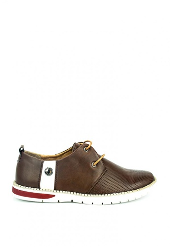 Cardam's Lifestyle brown Michael Sneakers 42093SH8149533GS_1