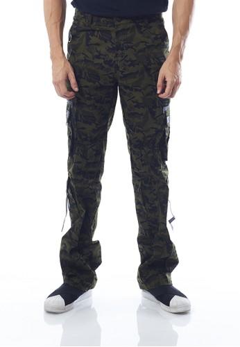JAVA SEVEN green JAVA SEVEN CELANA PANJANG PRIA [ISL 207] - Army F3502AABFFD29CGS_1