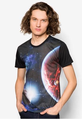 星esprit台灣網頁河與太空設計TEE, 服飾, 服飾
