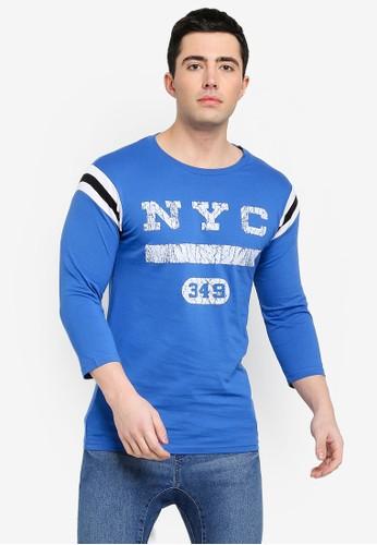 Cotton On blue Tbar Baseball Tee DF911AA0A2AE89GS_1