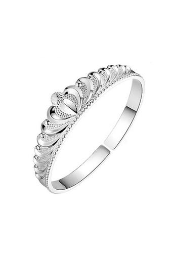 Elfi silver Elfi Silver Crown Bracelet SB13 EL186AC0RQ2MMY_1