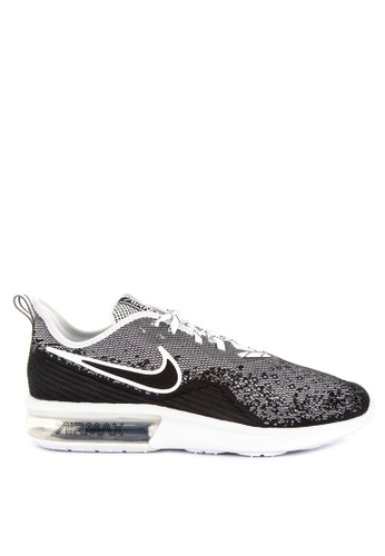 Nike black Nike Air Max Sequent 4 Shoes ABC09SH8A72B6AGS_1