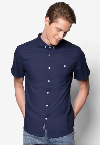 素色短袖襯衫, 服飾, 襯esprit鞋子衫