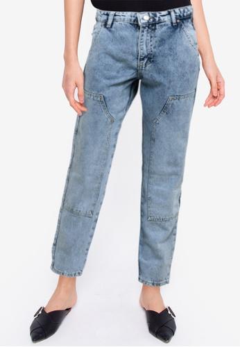 Trendyol blue High Waist Jeans 0F1BBAAD0FF77BGS_1