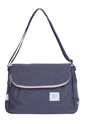 Caterpillar Bags & Travel Gear Essential Vintage Round Shoulder Bag CA540AC12EHFHK_1