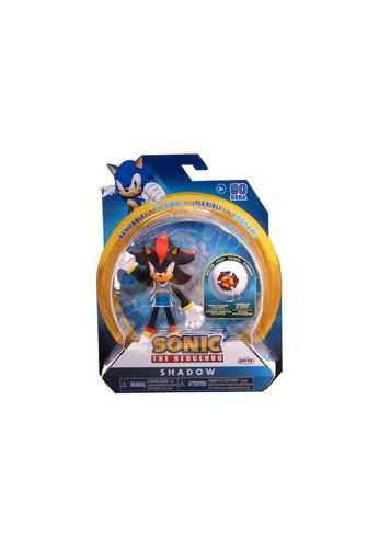 Kidmoro black SEGA Sonic The Hedgehog - SHADOW (Soccer) Bendy 4-inch Figure with Accessories 2A24EES2885EC6GS_1