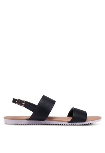 Rubi black Everyday Marley Minimal Sandals 788C9SH113A3ADGS_1