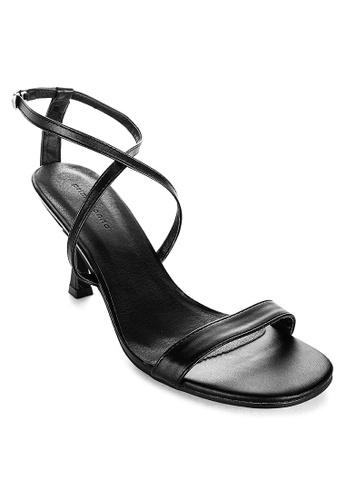 Primadonna black Strappy Heels 2DC9CSHD3B2ABFGS_1