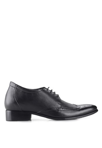 Keeve black Keeve Shoes Peninggi Badan Formal 027- Hitam 69667SH605533FGS_1