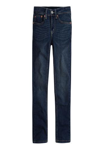 Levi's Kids blue LEVIS Big Boy 512 Slim Taper Fit Jeans 8B209KADE9D799GS_1