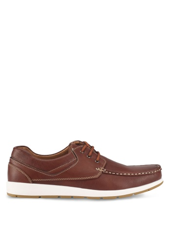 Rocklander brown Boat Shoes 59FD0SH459487CGS_1