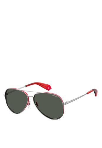 Polaroid silver PLD 6069/S/X Sunglasses 3A740GL90780C9GS_1