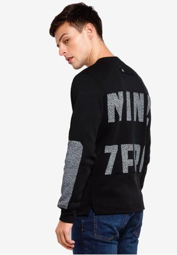 Jack & Jones black Object Sweatshirt 7BD59AA5BF906BGS_1