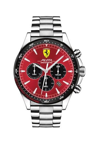 Scuderia Ferrari red Scuderia Ferrari Pilota Red Men's Watch (830619) EA554ACF10904FGS_1