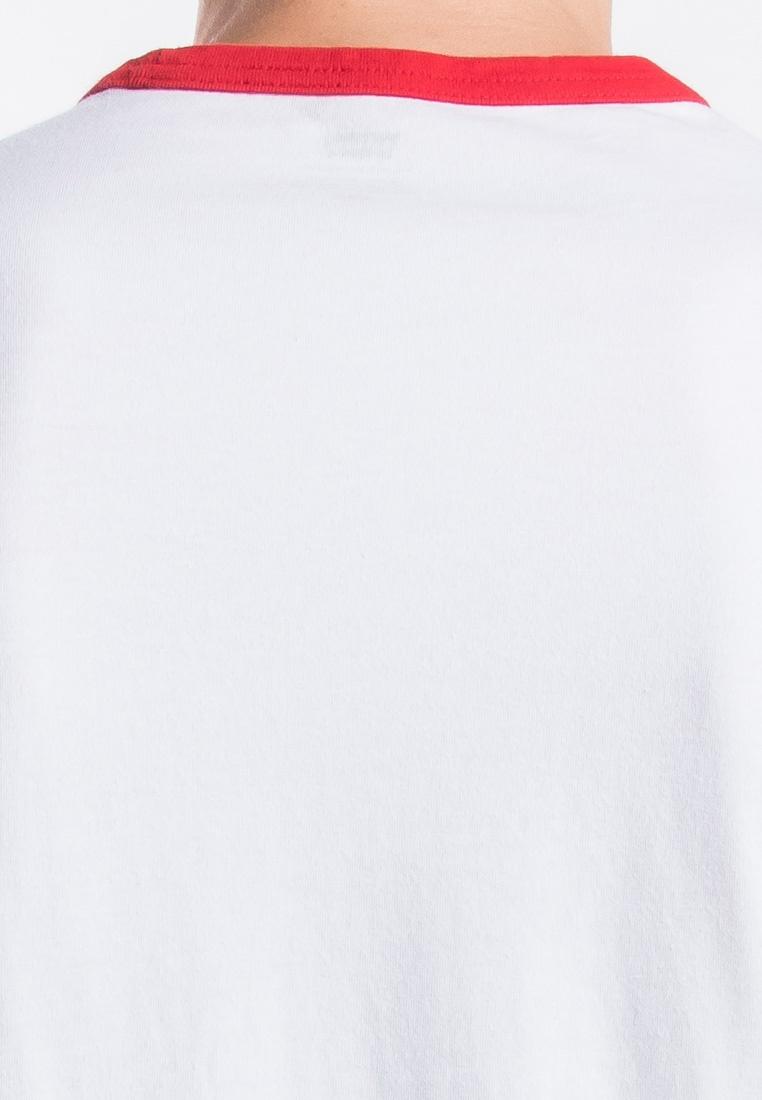 Levi's Graphic Tee Levi's White Ringer AvzxwT