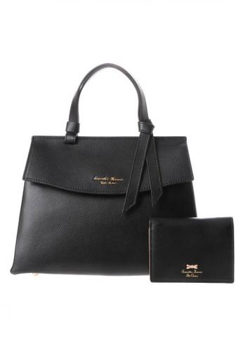 Samantha Thavasa black Samantha Thavasa Petit Choice Monica Bag with Mini Wallet 8B1FDAC4D0AE2AGS_1