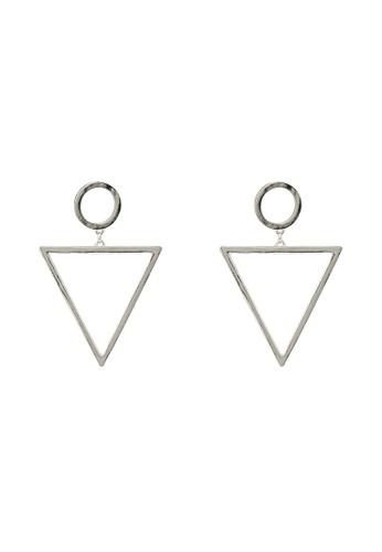 ALDO silver Roselin Pierced Earrings 0FBDCACBE98D4AGS_1