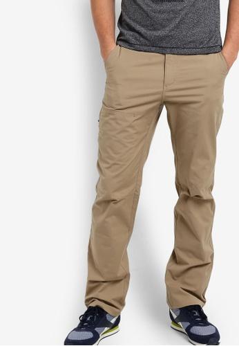 Odlo brown Cheakamus Pants OD608AA60JZJMY_1