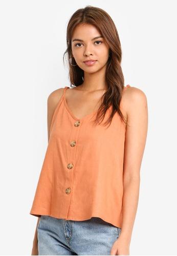 03cc13e548896 Buy Cotton On Alexa Button Front Cami Top Online on ZALORA Singapore