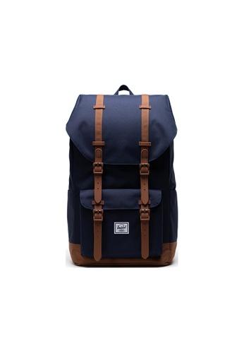 Herschel navy Herschel Little America Backpack - Peacoat F3EDAACF946F1DGS_1