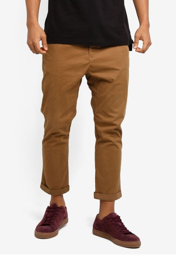 Cotton On brown Drake Roller Pants 14311AA9351072GS_1